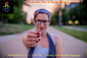 Mahnwache zum Transgender Day of Remembrance