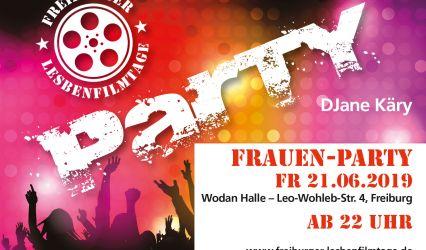 Frauenparty am 21.06 in der Wodan-Halle (1 EUR Soli für den CSD)