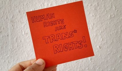 Trans* Rights are Human Rights!  – Wieso uns die Situation in den USA erschüttert!